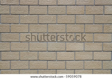 Pattern of Traditional Brown Brick Wall