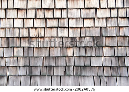 Pattern of wooden tiles