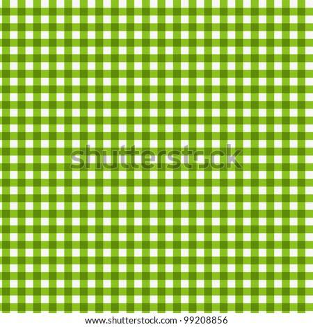 Pattern picnic green - stock photo