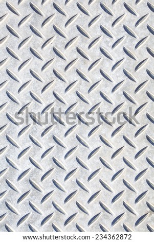 pattern style of steel floor for background  - stock photo