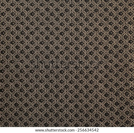 Pattern textile fabric material texture background closeup. - stock photo