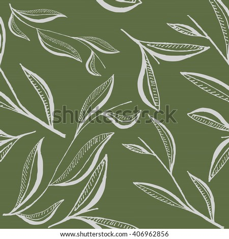 pattern with leaf
