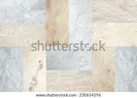 Patterned marble surface, Backgrounds - stock photo
