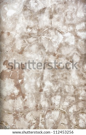 Patterns for backgrounds and textures.  Old wall.  St. Augustine, FL, USA. - stock photo