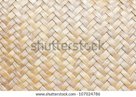 Patterns of weave bamboo in asia. - stock photo