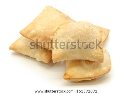 Patties stuffed with meat