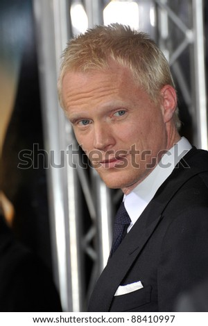 "Paul Bettany at the world premiere of his new movie ""Legion"" at the Cinerama Dome, Hollywood. January 21, 2010  Los Angeles, CA Picture: Paul Smith / Featureflash"