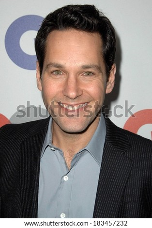 Paul Rudd at Gentleman's Quarterly GQ Men of the Year Event, Chateau Marmont, Los Angeles, CA November 18, 2009  - stock photo