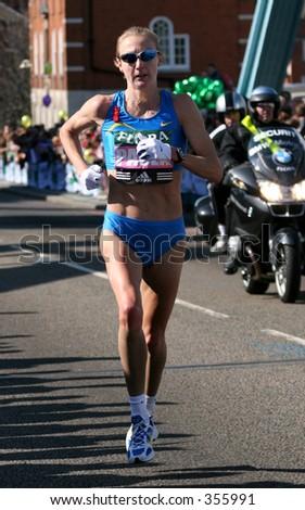 Paula Radcliffe - stock photo