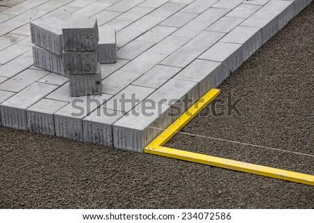 pave - stock photo
