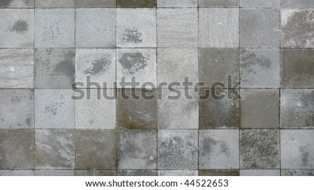 paved stone - stock photo