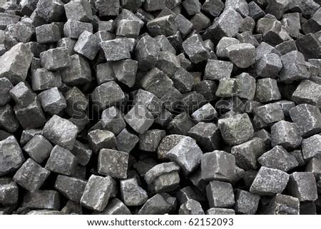 Pavement stones - stock photo
