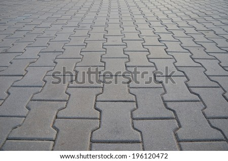 Paving Brick - stock photo