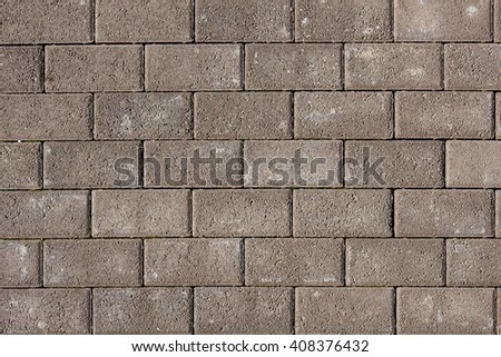 Paving slabs surface