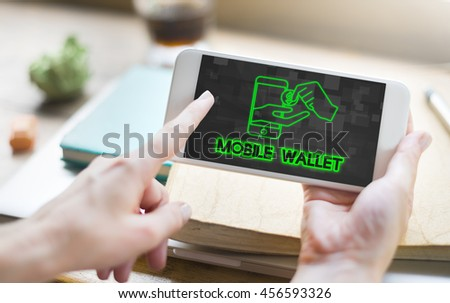 Payment Banking Transaction Purchase E-Banking Concept - stock photo