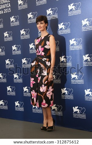 Paz Vega attends the Jury Photocall during the 72nd Venice Film Festival on September 2, 2015 in Venice, Italy. - stock photo