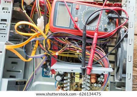 Pc Power Supply Repair Stock Photo 626134475 - Shutterstock
