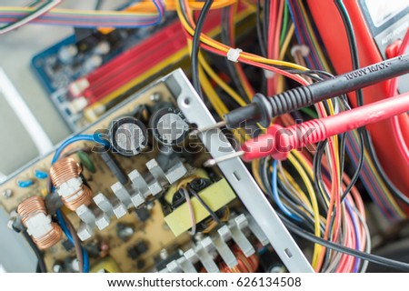 PC Power Supply Repair Stock Photo (Royalty Free) 626134508 ...