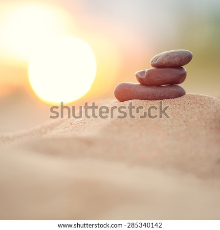 peace and calm - stock photo