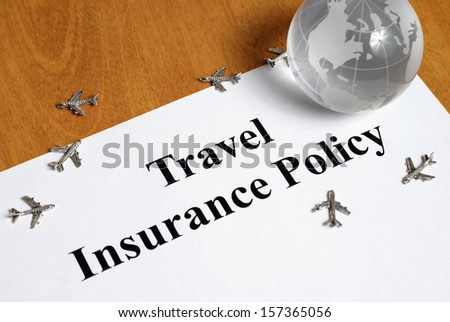 Peace of mind comes with the purchase of travel insurance.