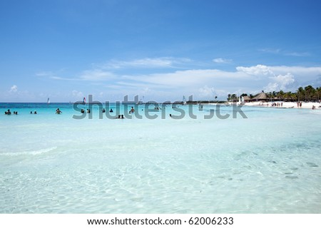 Peaceful Caribbean Sea