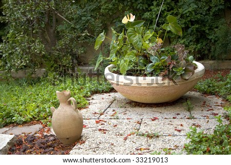 Peaceful Corner - stock photo