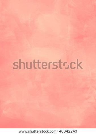 peachy pink soft marble illustration - stock photo