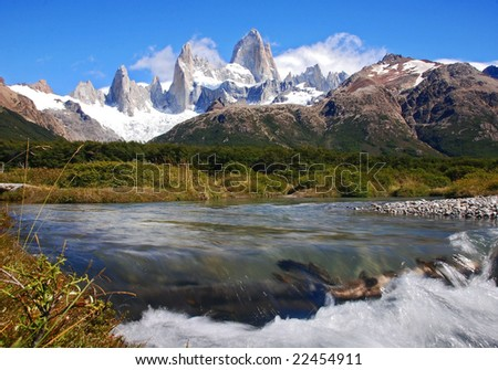 peaks of fitz roy mountain