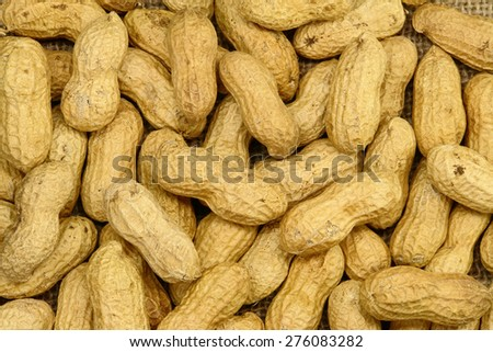 Peanut Background - stock photo