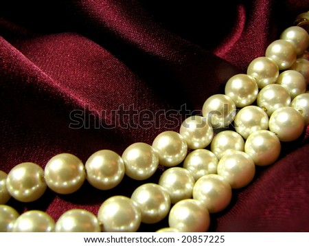 Pearls on Silk 2