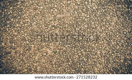 Pebble Stones For Background - stock photo
