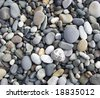 pebble stones great as a background - stock photo