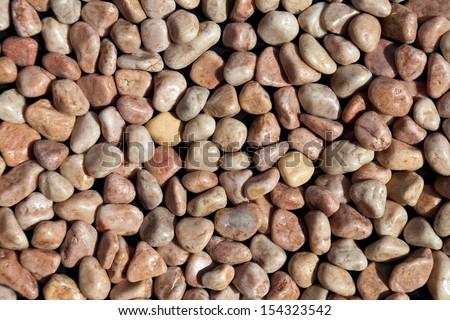 pebble stones texture  - stock photo