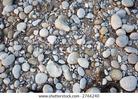 Pebbles - can be used as background