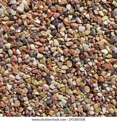 Pebbles seamless pattern. - stock photo