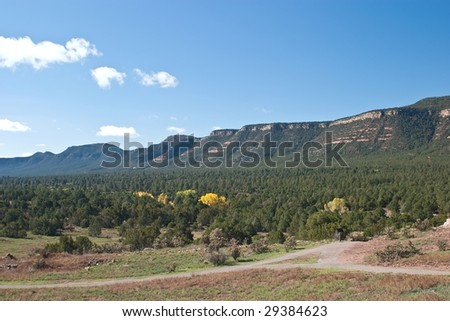 Pecos National Historical Park is a National Historical Park in the U.S. state of New Mexico. - stock photo