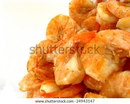 Peel 'n Eat Shrimp - stock photo
