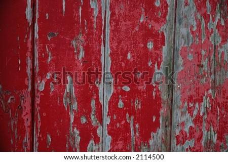 Peeling paint (2) - stock photo