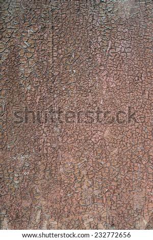 Peeling paint on wall seamless texture. - stock photo