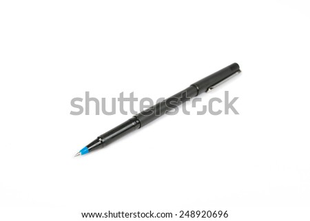 pen isolated on white.