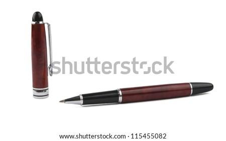 pen isolated on white background - stock photo