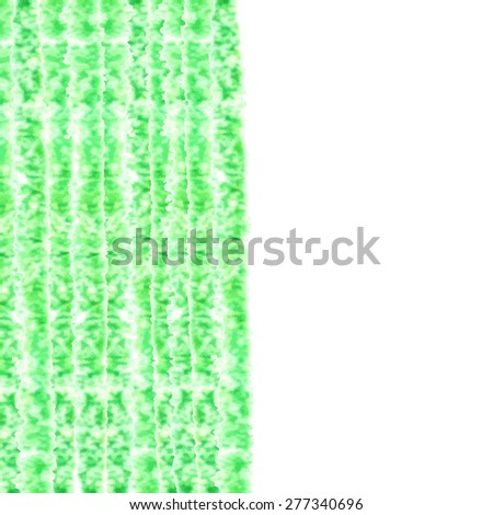 Pencil background with place for text. Sketch design. Green pencil texture. Grunge background. Spring mode. raster illustration. - stock photo