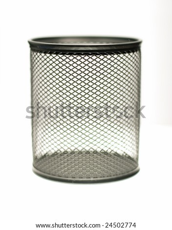 pencil cup - stock photo