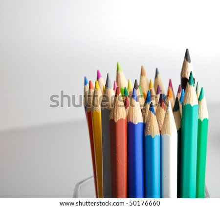 pencil isolated