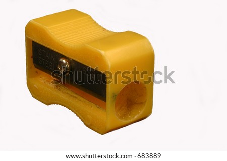 Pencil sharpener, isolated