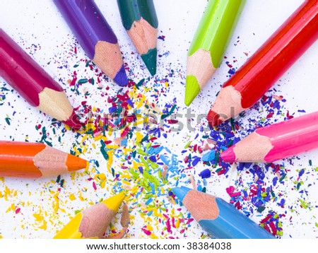 pencils in the cyrcle
