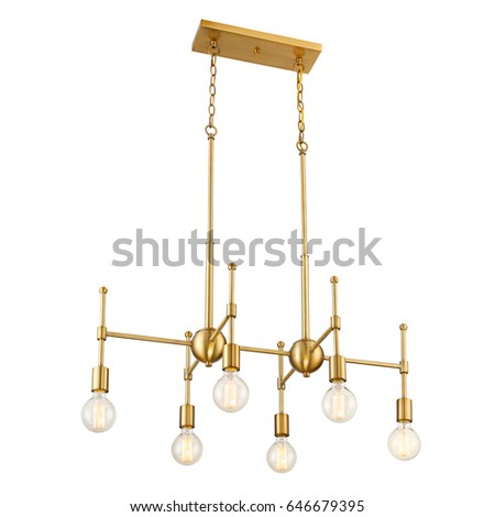 Pendant sconce isolated on white background stock photo 646679395 pendant sconce isolated on white background metal bronze light fixture with led bulbs chandelier aloadofball Choice Image