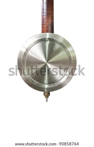 Pendulum clock - stock photo