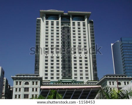 Peninsula Hotel, one of the most famous hotel in Hong Kong