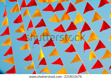 pennant - stock photo